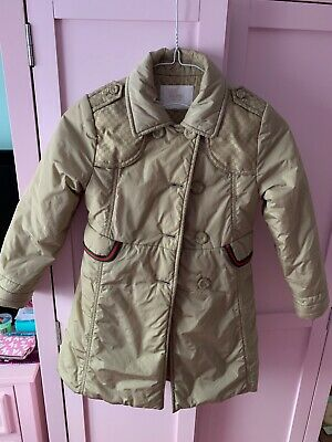 Stunning Gucci  girls coat age 6 Perfect For autumn /winter 100% Authentic.
