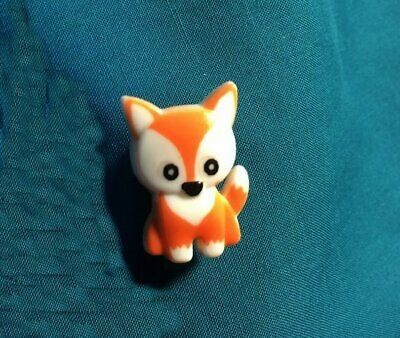 Cute Little Red Fox Foxes Foxy Dog Forest Animal Holey Clog Shoe Charms Charm