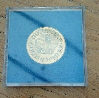 Elizabeth II Golden Jubilee 2002 Limited Edition commerative coin