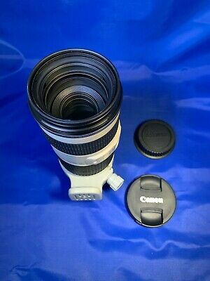 Unused! Canon EF 70-200mm F/4 L IS USM Lens Boxed with Canon CT-74 hood & LP1224