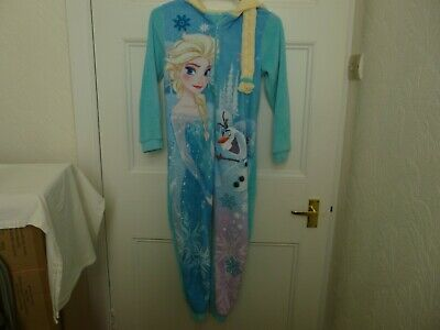 Girls Disney all in one sleepsuit age 9-10 years Ex. Cond.