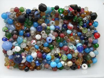 ANTIQUE BOBBIN SPANGLE BEADS, HUGE AMOUNT!! APPROX 300! & Bird cage spangle