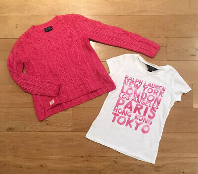 polo ralph lauren Girls Top & Jumper Age 7