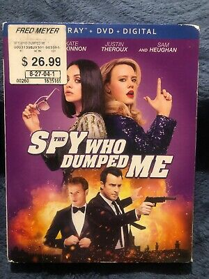 SPY WHO DUMPED ME With Slipcover!  (BLU-RAY/DVD/Digital)