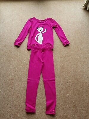 Gymboree Outfit Bought In Usa Age 8 Tunic Top & Leggings Excellent Condition