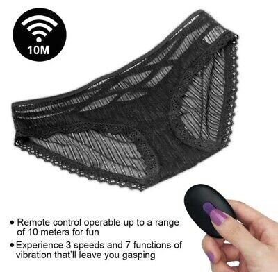 Vibrating Panties 10 Functions Wireless Remote Control Intimates Sleep Size