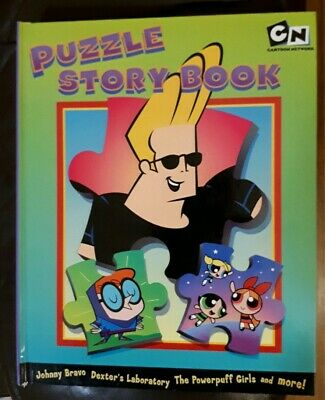 CARTOON NETWORK Jigsaw Puzzle Storybook by Innovage / C Network New and Unused