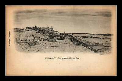 Dr Jim Stamps Champ Henry Topical View Bourmont France Postcard