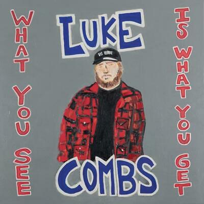 Luke Combs - What You See Is What You Get Audio CD - BRAND NEW FACTORY SEALED