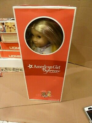 "American Girl Julie Albright 18"" Doll  in BOX"