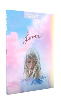 TAYLOR SWIFT Lover TARGET EXCLUSIVE CD Deluxe Version # 2 Sealed NEW w/ Journal