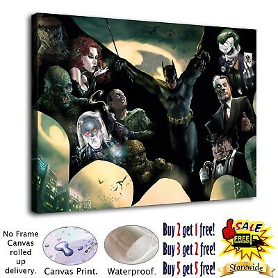 """12""""x16""""batman posters HD Canvas Print Painting Home Decor room Wall Art Picture"""