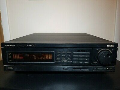 Pioneer CLD-3070 Laser Disc Player TESTED