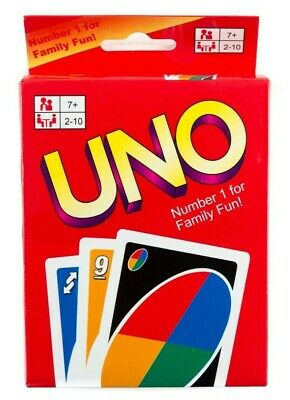 UNO Card Game 2-10 People Card Game Includes 108 Cards, Ages 7+