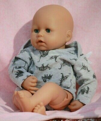 Collectable Zapf Creation Baby Born Size Soft Body Doll 17 Inch