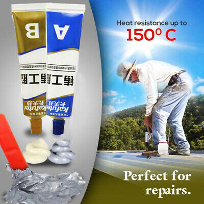 Industrial Heat Resistance Cold Weld Metal Repair Paste-A&B Set