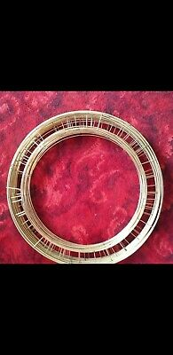 """16"""" inch Wreath Rings Flat Wire Copper Mossing Frame 10"""