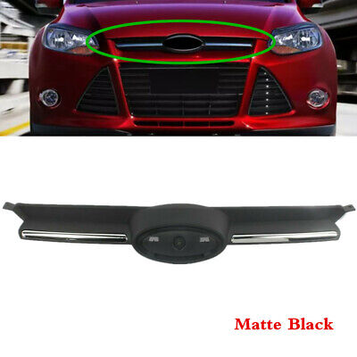 NEW FRONT BUMPER TRIANGLE GRILLE MATT BLK RH DRIVERS SIDE FORD FOCUS 2011 on
