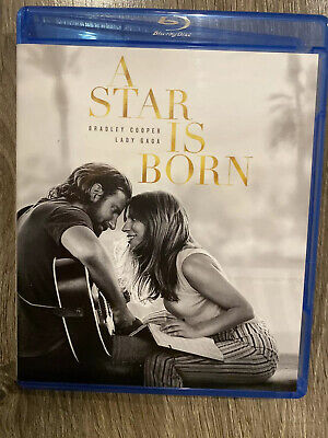 Star Is Born 2019 Blu-Ray +Case+Art Does Not Include Digital-dvd-Slip Cover