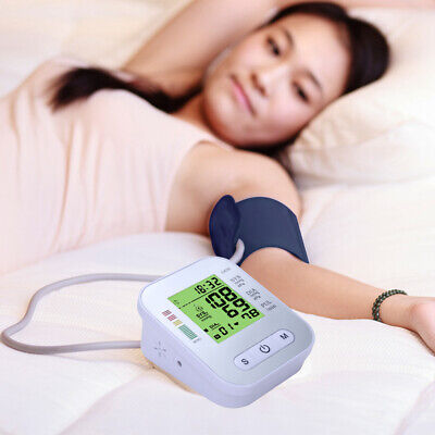 Automatic Blood Pressure Monitor Upper Arm Digital BP Machine with Large Cuff UK