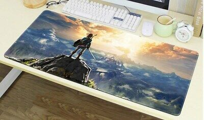 Mouse Pad The Legend of Zelda Large Gaming Anti-slip keyboard Mousepads Desk Mat