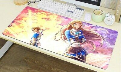 Mouse Pad The Legend of Zelda Large Gaming Anti-slip Mousepads keyboard Desk Mat