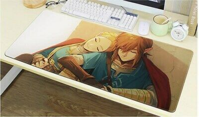 The Legend of Zelda Mouse Pad Large Gaming Anti-slip Mousepad  keyboard Desk Mat