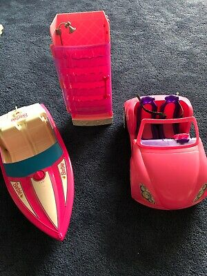 Barbie Car, Speed Boat And Shower - Cheshire