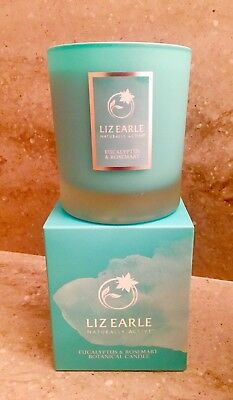 Liz Earle Eucalyptus and Rosemary Candle **Brand New Style Packaging**