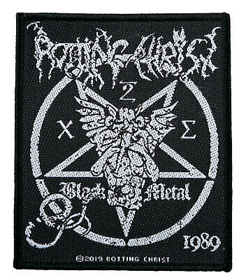 Rotting Christ Aufnäher Patch SP3043 Rotting Christ Band Aufnäher