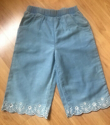 Girls Light Denim Culottes M&Co Kids Age 3-4years BRAND NEW