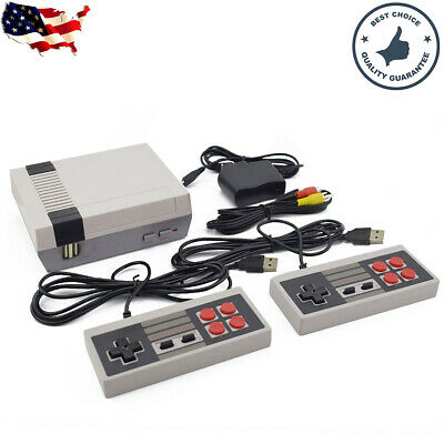 Retro HDMI Game Console 600 Built-in MINI Classic NES Games With 2 Controllers