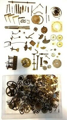 Vintage Clock Parts - Job Lot Clock Parts - Antique Clocks Parts 🕰 Steam Punk