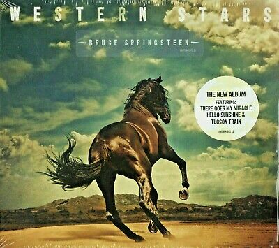 Bruce Springsteen - Western Stars [CD]   New & Sealed   Fast UK Delivery