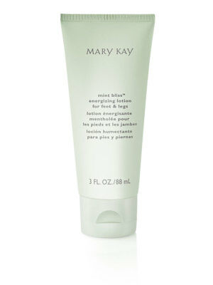 Mary Kay Mint Bliss Energizing Lotion NEW Retail Value $11