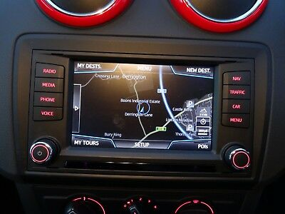Seat Ibiza 2015 - 2017 Sat Nav GPS Stereo Head Unit & Display