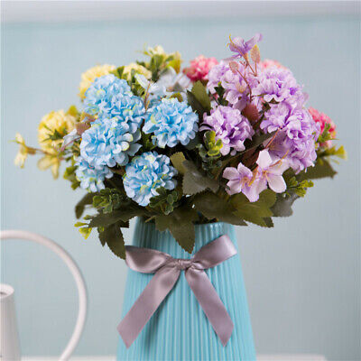 7 Heads Artificial Chrysanthemum Flowers Silk Fake Flowers For Home Decoration