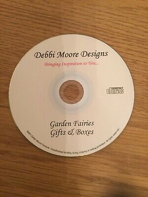 Debbi Moore Designs Garden Fairies Gifts & Boxes CD Rom - DISC ONLY - Craft