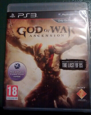 PS3 Game God of War Ascension Sony PlayStation 3 Mint UK Pal