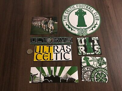 65 Mixed Ultras Celtic stickers
