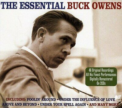 Buck Owens - The Essential, 46 Hits, 2CD/CD BRAND NEW at Musica Monette, Canada