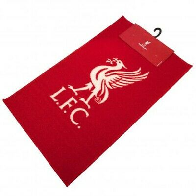 Liverpool FC Bedroom Rug Size 80cm x 50cm Machine Washable Club Crest Ideal Gift