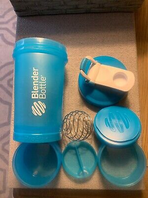 Blender Bottle ProStak 16oz w/ 2 Attachable Storage Compartments