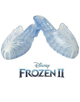 Disney Frozen 2 Elsa Travel Shoes for Girls Costume or Role Play Dress-Up