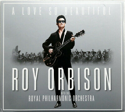 Roy Orbison & Philharmonic Orchestra  A Love So Beautiful Sealed Cd Tracks Pic 2