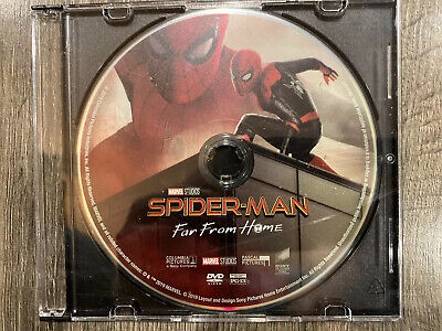 Spider-man Far From Home DVD Only Never Been Used Ships In Slim Cd Case