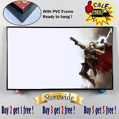 """12""""x20""""Super hero thor PVC HD Canvas prints Painting Home Decor Picture Wall art"""