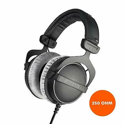 beyerdynamic DT 770 PRO 250 Ohm Over-Ear Studio Headphones in Black. Closed Cons
