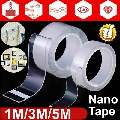 Nano Magic Double Sided Grip Tape Traceless Sticky Gel Invisible Tape Anti-Slip
