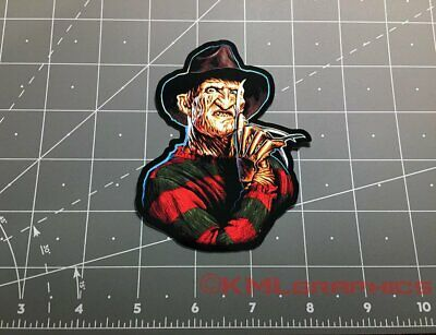 Freddy Krueger A Nightmare on Elm Street movie decal sticker 1980s horror 80s
